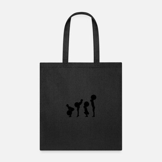 Lifting Bags & Backpacks - snatch - Tote Bag black