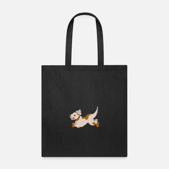 Animal Love Bags & Backpacks - Sweet dog - Tote Bag black