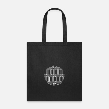 Honeycomb Honeycomb Design White - Tote Bag