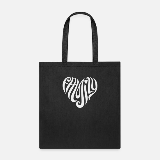 Family Crest Bags & Backpacks - Family - Tote Bag black