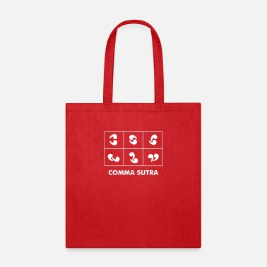 Commas Comma Sutra - Tote Bag