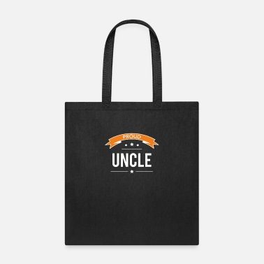 Proud Uncle funny tshirt - Tote Bag
