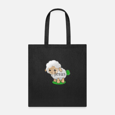 Greenboy Jesus: Worthy is the Lamb (Chrome) - Tote Bag