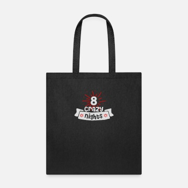 Crazy Eights Eight Crazy Nights - Tote Bag