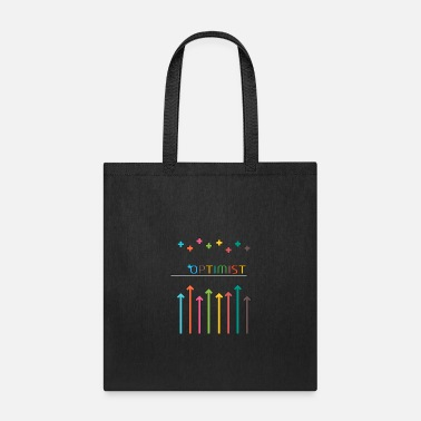 Optimist +Optimist - Tote Bag