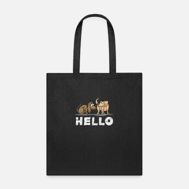 Dog Lover Dog Lover-Hello Dogs - Tote Bag