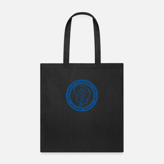 Vet Bags & Backpacks - Isla Nublar Vet - Tote Bag black