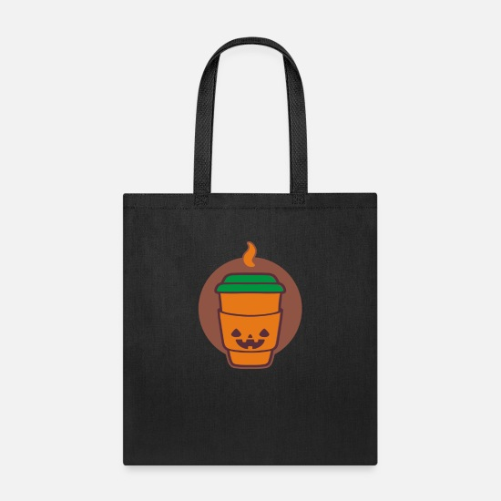 Jack Bags & Backpacks - Jack O Latte - Tote Bag black