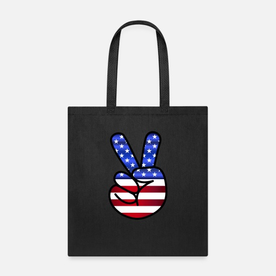 Love Bags & Backpacks - america - Tote Bag black