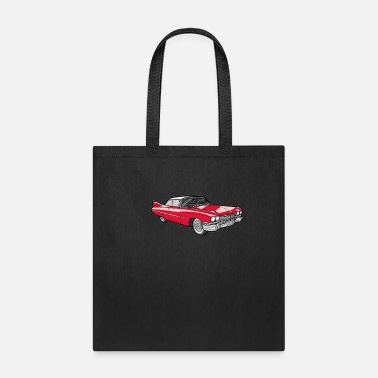 Youngtimer Caddilac Oldtimer Youngtimer Historical Car Gift - Tote Bag