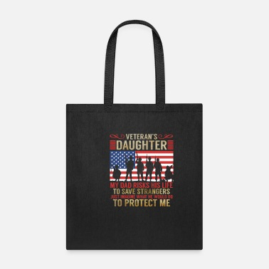 Daughter Veteran Daughter Gift Proud Veterans Day - Tote Bag