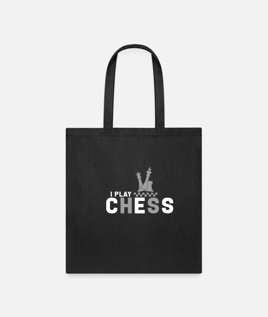 Chess Bags & Backpacks - Chess Chessboard Board game Tournament Gift - Tote Bag black