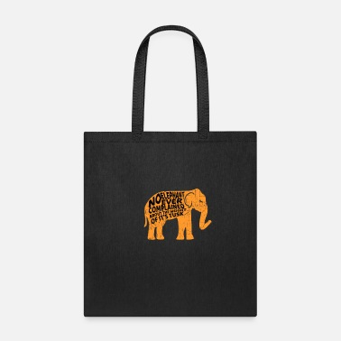 Pachyderm Elephant pachyderm Funny weight - Tote Bag