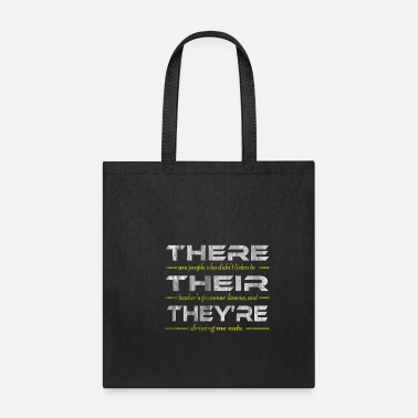 School English Teacher Grammar Lesson - Tote Bag