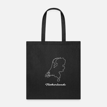 Map Netherlands Map Map - Tote Bag