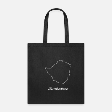 Map Zimbabwe map map - Tote Bag