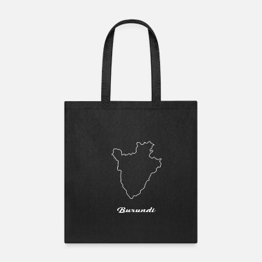 Map Burundi map map - Tote Bag