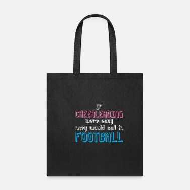 Cheer Cheerleading Football Cheering Team Cheer - Tote Bag