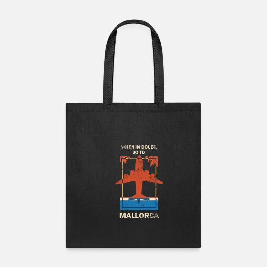 Spain Bags & Backpacks - Mallorca - Tote Bag black