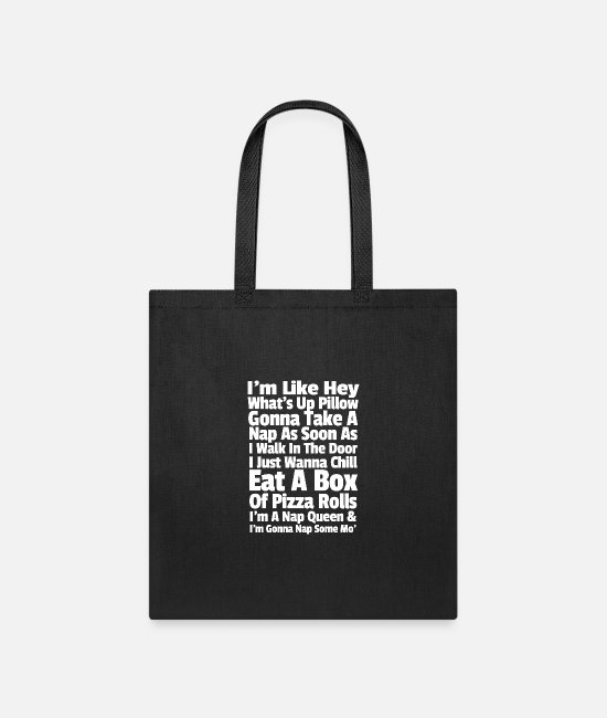 Fetty Bags & Backpacks - Fetty Wap Trap Queen Lazy - Tote Bag black