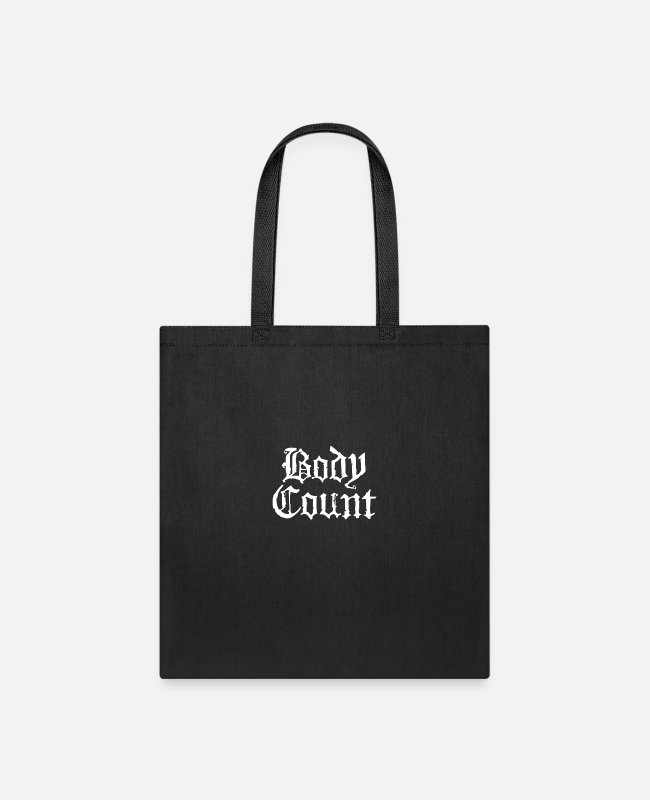 New Zealand Bags & Backpacks - Body Count New funny tshirt - Tote Bag black