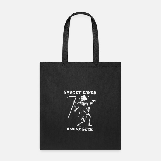 Candy Cane Bags & Backpacks - Forget Candy - Tote Bag black