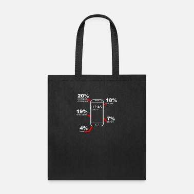Mobile Phone mobile phone - Tote Bag