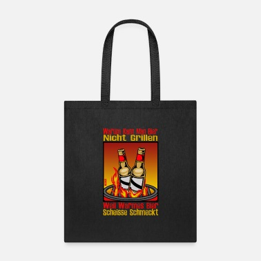 Fun Why Can You Not Barbecue Beer HARIZ Barbecue Beer - Tote Bag