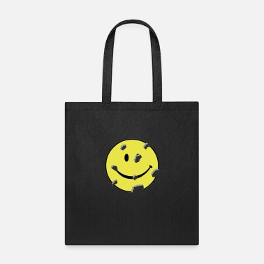 Hilarious shot smiley - Tote Bag