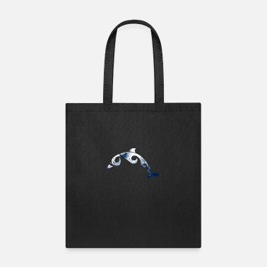 Nerdsbyleo Tribal Dolphin - Tote Bag