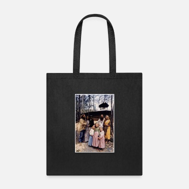 Hippie 1960s real true hippy family - Tote Bag