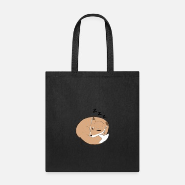 Sleeping Sleeping fox - Tote Bag