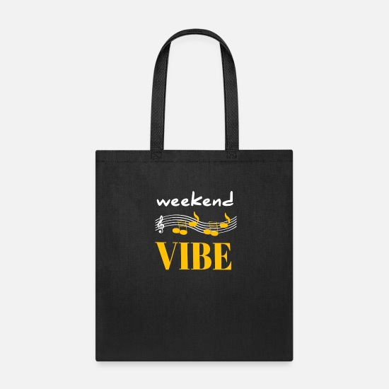 Warrior Bags & Backpacks - Weekend vibe - Tote Bag black