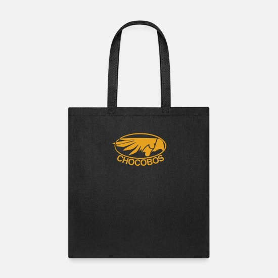 Final Bags & Backpacks - Final Fantasy Chocobos Tee - Tote Bag black