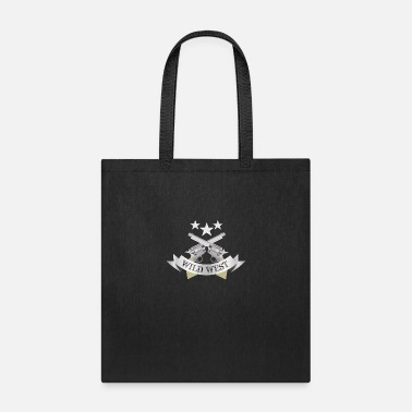 Crossed Revolver Wild West - Tote Bag