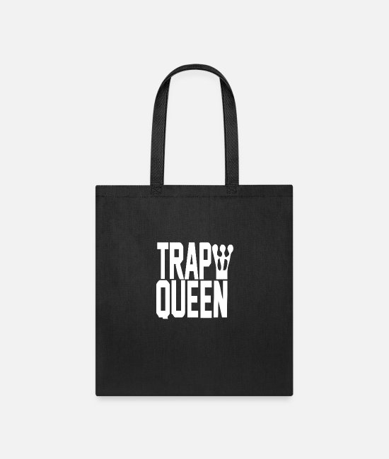 Horor Bags & Backpacks - King Trap Queen NEW - Tote Bag black