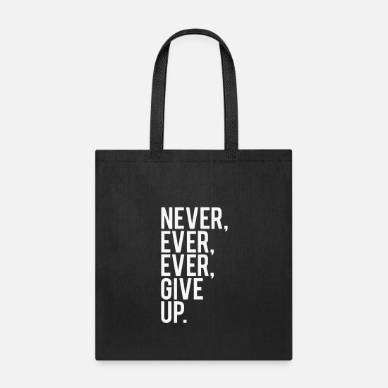Movie Bags & Backpacks - Never Ever Ever - Tote Bag black