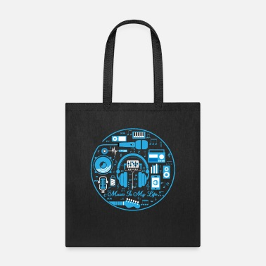 Sheet Music Musician - Tote Bag
