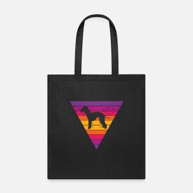 Shade Bedlington Terrier - Tote Bag