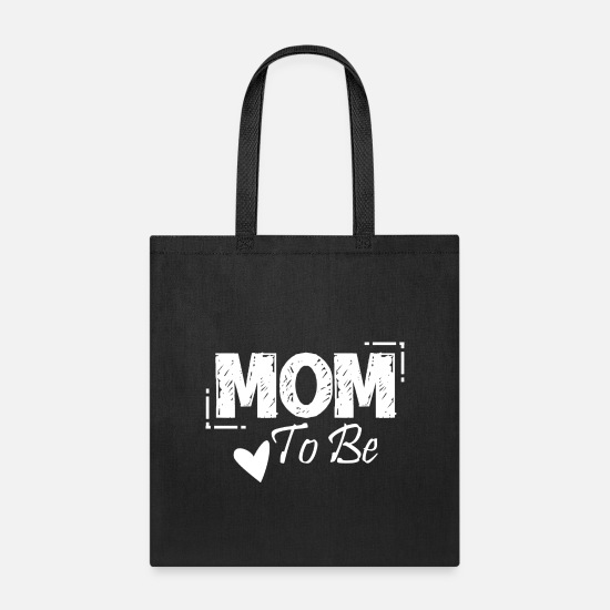 Mother's Day Bags & Backpacks - Mom to be - Tote Bag black