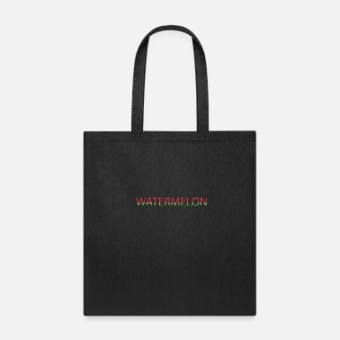 Fitness watermelon text effect - Tote Bag