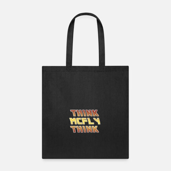 The Doctor Bags & Backpacks - Think Mcfly Think - Tote Bag black