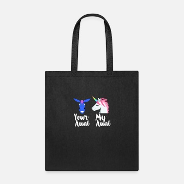 Funny Family Funny Aunt - Your My Family - Sister Kin Humor - Tote Bag