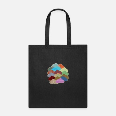 Samples Clouds Forms Patterns Abstract - Tote Bag