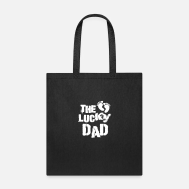 Pregnant Lucky Dad Daddy Daddy Baby Pregnant Kids - Tote Bag