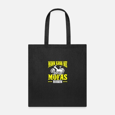 Scooter Moped Moped Biker Scooter Motorcycle - Tote Bag