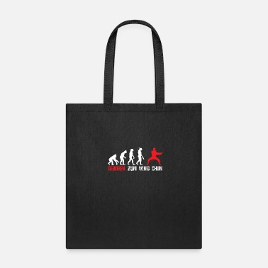 Darwin Born for Wing Chun training - Tote Bag