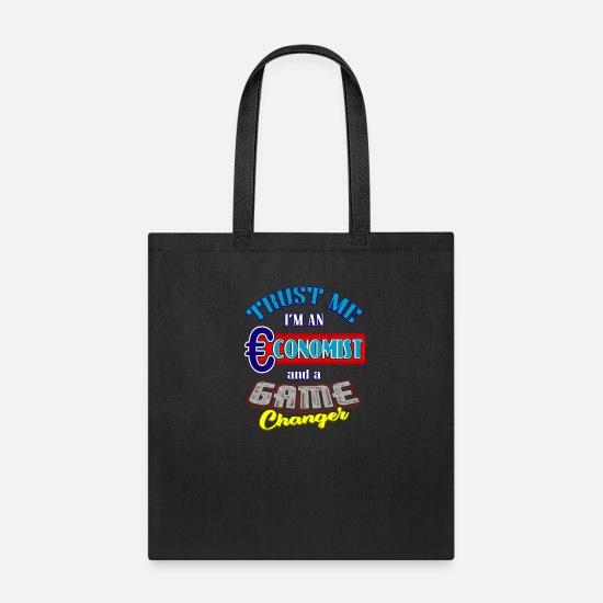 Occupation Bags & Backpacks - Economy Economist Profession Occupation job - Tote Bag black