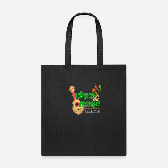 May Bags & Backpacks - cinco de mayo - 5 de mayo - Tote Bag black