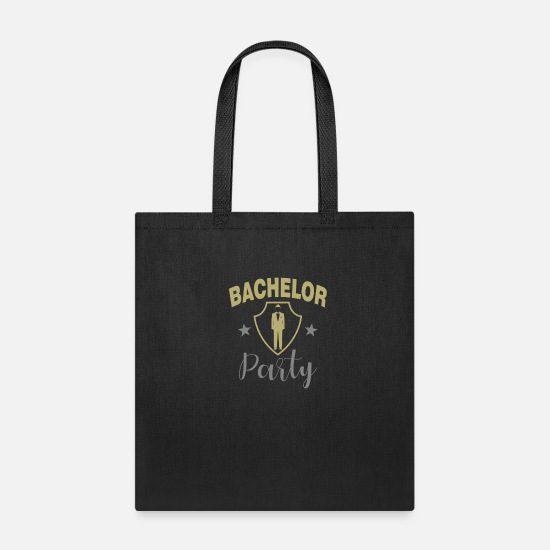 Bachelorette Party Bags & Backpacks - Bachelor Party - Tote Bag black